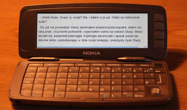 Nokia 9300 z ebookiem