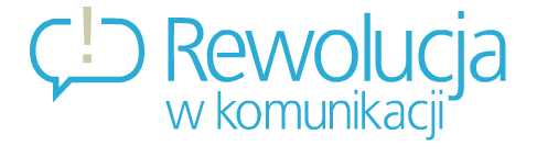 Logo Rewolucja w komunikacji