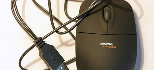 Amazon Basics - Myszka