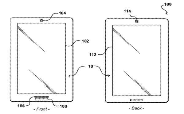Dwustronny tablet Amazonu