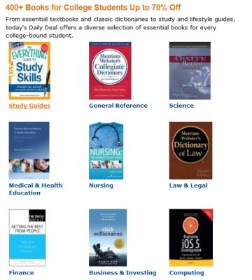 400 książek w Kindle Daily Deal