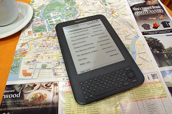 Kindle w Japonii