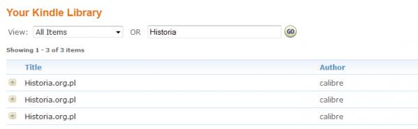 Lista przefiltrowana nasłowo Historia