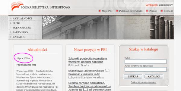 PBI - strona główna