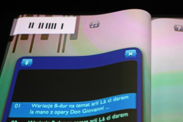 Książka elektroniczna w Muzeum Chopina