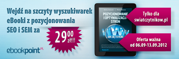 SEO w Ebookpoint po 29 zł