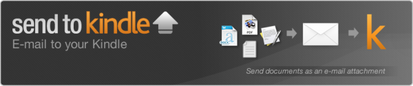 Wysyłka mailowa plików na Kindle