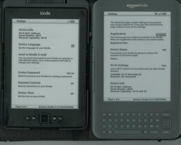 Nowy Kindle Classic  vs Kindle Keyboard