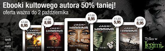 Jack Higgins w Legimi