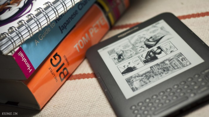 Manga na Kindle