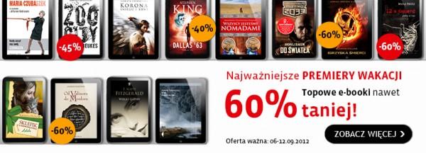 Premiery wakacji do 60% taniej