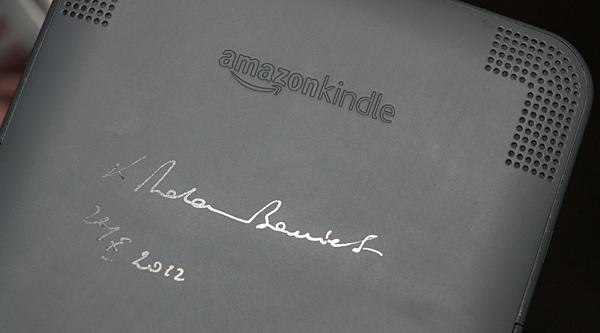 Autograf ks. Bonieckiego na Kindle