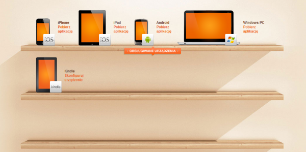 Urządzenia dla ebooka