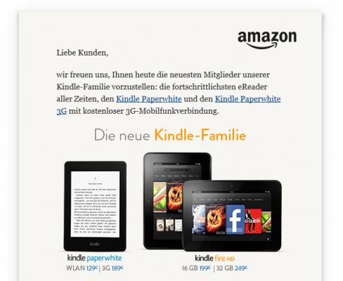 Kindle Paperwhite w Niemczech