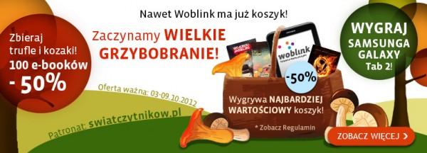 Grzybobranie w Woblinku