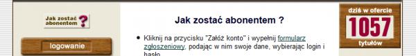 Abonament Literatura.net.pl