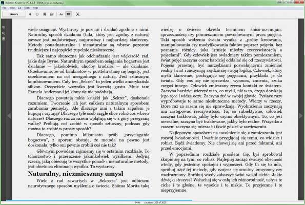 Efekt jo-jo w motywacji - PDF w MOBI