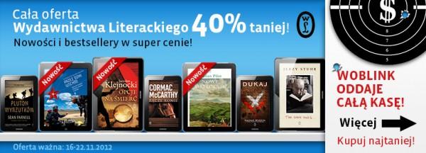 Wydawnictwo Literackie - 40%