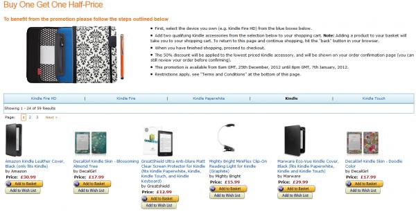 Zniżka na akcesoria w Amazon UK