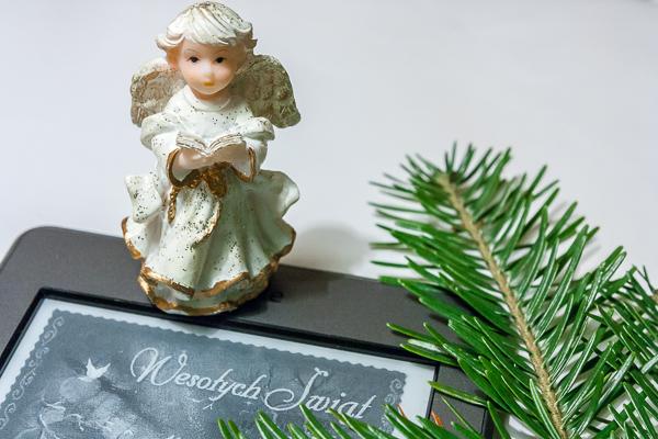Aniołek z Kindle - Wesołych świąt