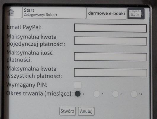 Paypal w Booksource
