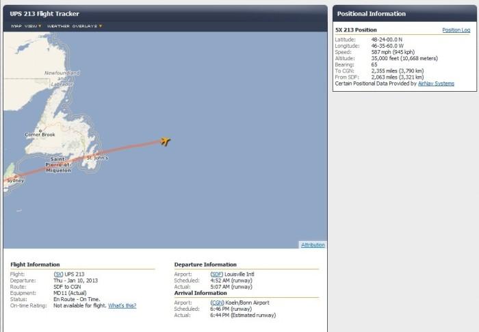 Flightstat Map
