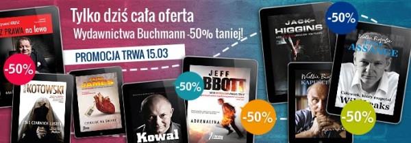 Buchmann o 50% taniej