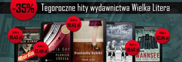 Promocje Dnia 18042013 Wielka Litera Czytelnia Polska
