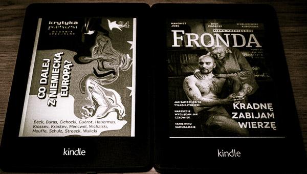 Krytyka Polityczna i Fronda na Kindle