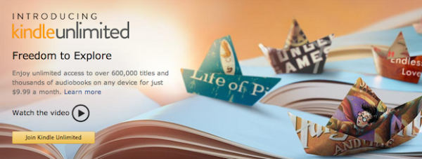 Introducing Kindle Unlimited. Freedom toExplore. Enjoy unlimited access toover 600000 titles and thousands of audiobooks on any device for just $9,99 amonth.