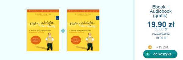 Promocja  Niebo istnieje Naprawdę   światowy bestseller tłumaczony na 35 języków     Ebookpoint.pl