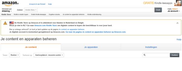 amazon-nl-konto