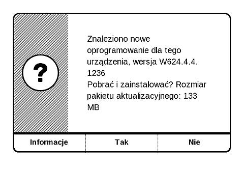 Dzięki funkcji OTA, czytnik pobierze odpowiedni dla siebie plik aktualizacji oprogramowania