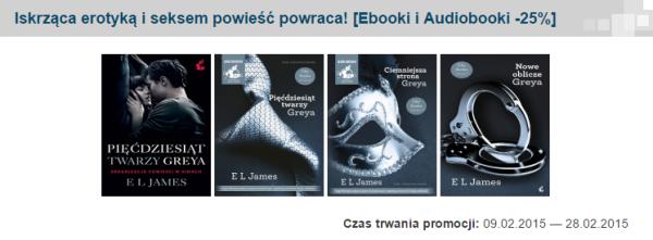Promocja  Iskrząca erotyką iseksem powieść powraca   Ebooki iAudiobooki  25      Ebookpoint.pl
