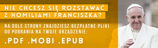 Wystąpienia papieża Franciszka w PDF, MOBI, EPUB