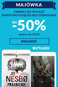 Virtualo na majówkę -50%