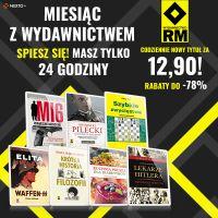 Wydawnictwo RM po 12,90 zł