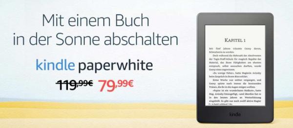 9d14c75509e8dd Potrzebujesz czytnika na wakacje? Niemiecki Amazon ruszył z promocją na  Kindle Paperwhite III. Czytnik kupimy w amazon.de za ok. 440 złotych.