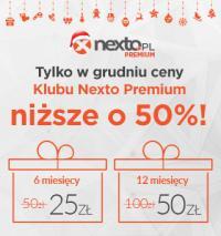 Nexto Premium o 50% taniej
